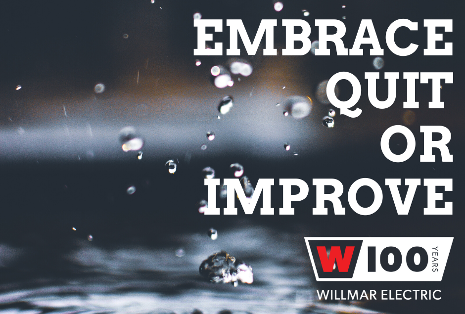 Embrace, Quit or Improve