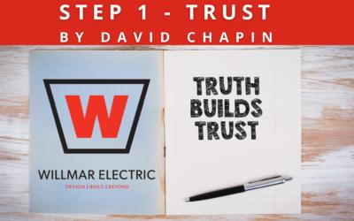 STEP ONE – TRUST